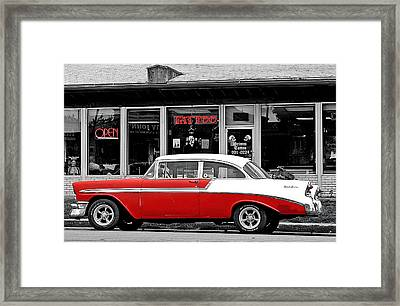 Framed Print featuring the photograph '56 Tattoo by Christopher McKenzie