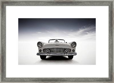 56 Thunderbird Framed Print by Douglas Pittman