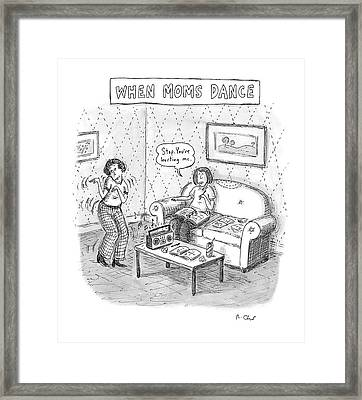 New Yorker September 11th, 2006 Framed Print by Roz Chast