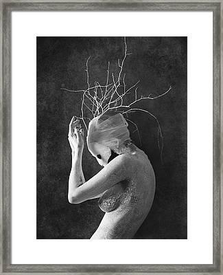 Feminature Framed Print by Victor Slepushkin