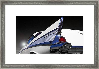 57 Chev Bel Aire Framed Print by John  Bartosik