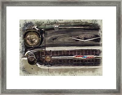 '57 Chevy Belair  Framed Print