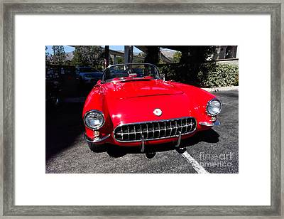 57 Chevy Framed Print by Nina Prommer