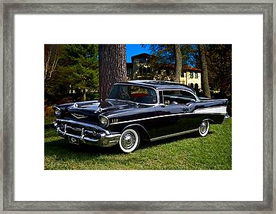 57 Chevy  Framed Print by Tim McCullough