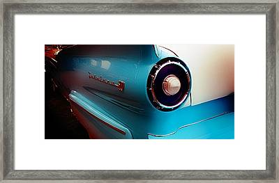 Aaron Berg Photography Framed Print featuring the photograph '57 Fairlane 500 by Aaron Berg