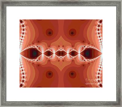 Fantasy Fractal Framed Print by Odon Czintos