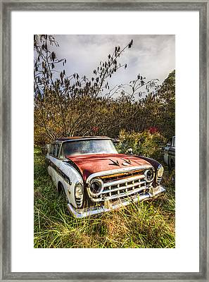 '57 Rambler Framed Print by Debra and Dave Vanderlaan