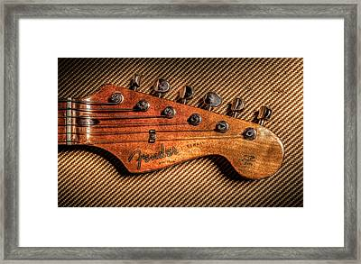 '57 Stratocaster Framed Print by Ray Congrove