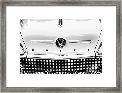 58 Buick Framed Print by Tim Gainey