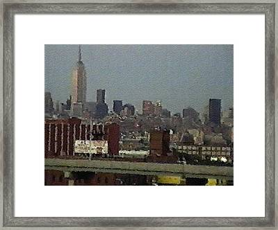 #56 Sands Of Time Framed Print