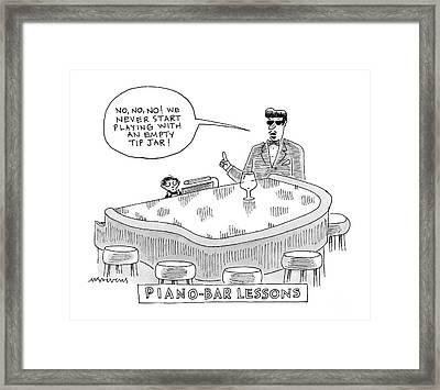 New Yorker June 4th, 2007 Framed Print by Mick Stevens