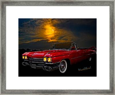 59 Baddy Caddy Framed Print by Chas Sinklier