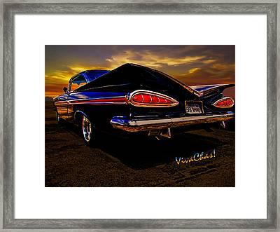 59 Chevy Impala Hardtop Framed Print