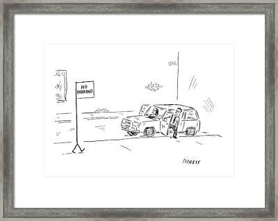 New Yorker September 24th, 2007 Framed Print