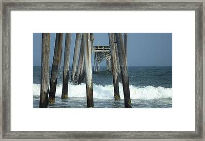 59th Street Pier Framed Print