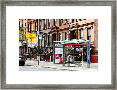 5th Ave And West 132nd Street Framed Print