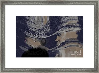 5th Ave Snow Framed Print by Gabrielle Schertz