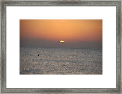 Good Night All Framed Print by Dave Byrne