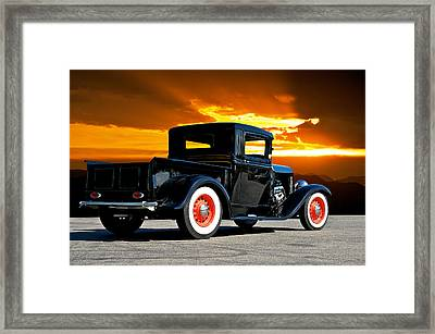 1932 Ford Pick Up Framed Print by Dave Koontz