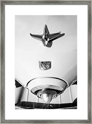 1951 Studebaker Commander Hood Ornament Framed Print
