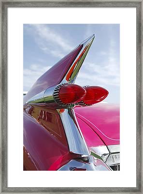 1959 Cadillac Eldorado Taillight Framed Print by Jill Reger