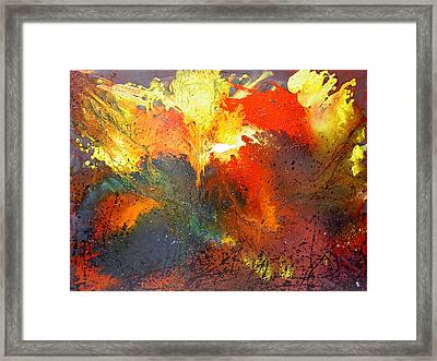 Abstract Framed Print by Min Zou