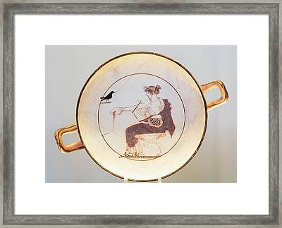 Ancient Delphi, Greece. Museum Framed Print by Ken Welsh