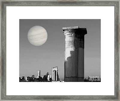 Apollo Sanctuary - Cyprus Framed Print
