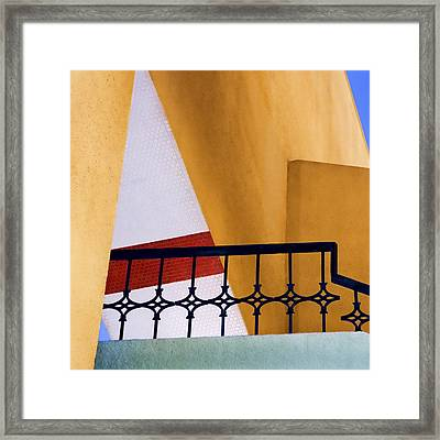 Architectural Detail Framed Print by Carol Leigh