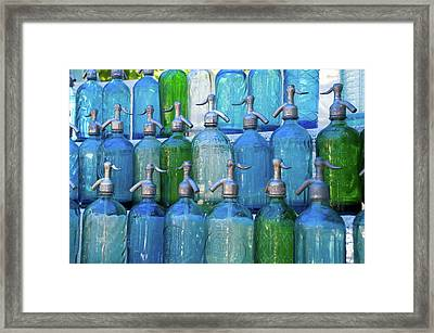 Argentina Buenos Aires San Telmo Flea Framed Print by Inger Hogstrom