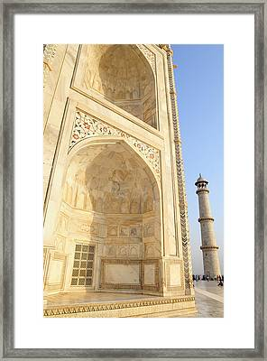 Asia, India, Uttar Pradesh, Agra Framed Print by Steve Roxbury