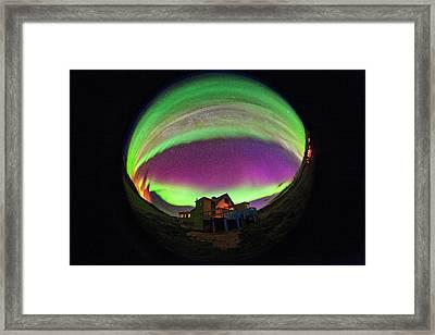 Auroral Display Framed Print