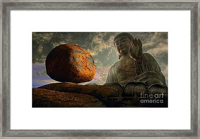Balance Framed Print by Marvin Blaine