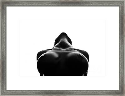 Black And White Nude Framed Print by Gunnar Orn Arnason