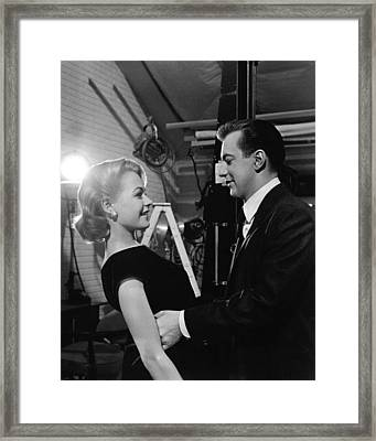 Bobby Darin Framed Print by Silver Screen