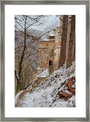 Bran Castle Framed Print by Gabriela Insuratelu