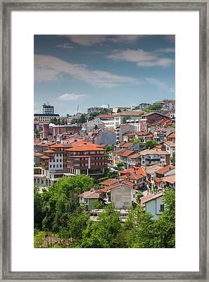 Bulgaria, Central Mountains, Veliko Framed Print