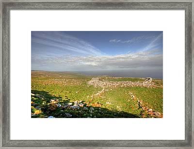 Burren View Framed Print by John Quinn