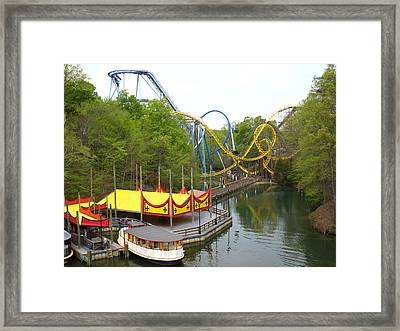 Busch Gardens - 12122 Framed Print by DC Photographer