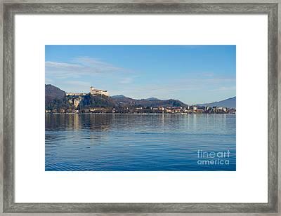 Castle Framed Print by Mats Silvan
