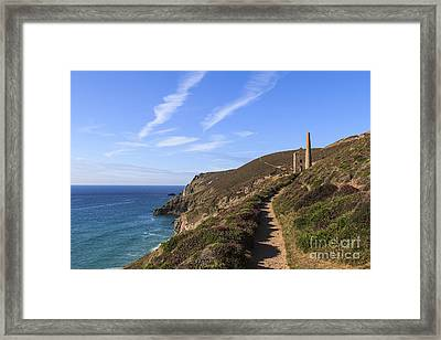 Chapel Porth Cornwall Framed Print
