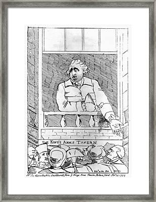 Charles Fox (1749-1806) Framed Print by Granger