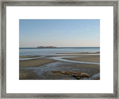 Charles Island Framed Print by John Scates