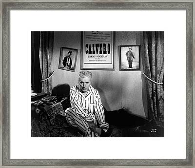 Charlie Chaplin Framed Print by Retro Images Archive