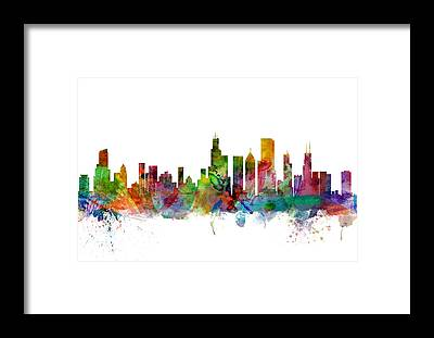 Sears Tower Framed Prints