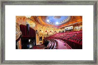 Chicago Theatre Framed Print