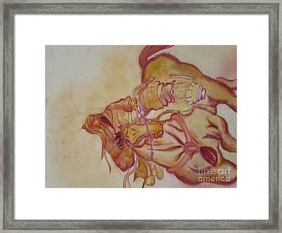Chinese God Framed Print