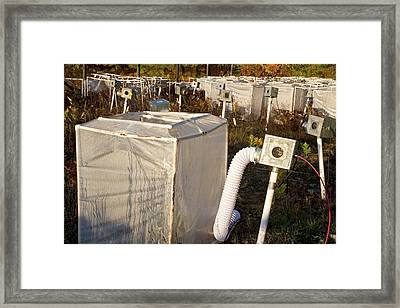 Climate Change Research Framed Print by Jim West