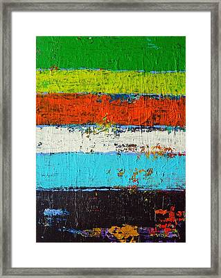 6 Colores Framed Print