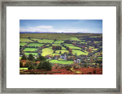 Dartmoor Framed Print by Joana Kruse